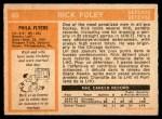 1972 O-Pee-Chee #80  Rick Foley  Back Thumbnail
