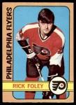 1972 O-Pee-Chee #80  Rick Foley  Front Thumbnail