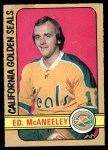 1972 O-Pee-Chee #242  Ted McAneeley  Front Thumbnail