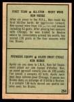 1971 O-Pee-Chee #254   -  Ken Hodge 1st All-Star Team Back Thumbnail