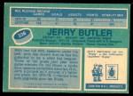 1976 O-Pee-Chee NHL #336  Jerry Butler  Back Thumbnail