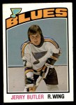 1976 O-Pee-Chee NHL #336  Jerry Butler  Front Thumbnail