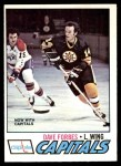 1977 O-Pee-Chee #143  Dave Forbes  Front Thumbnail