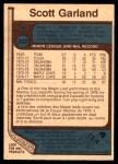 1977 O-Pee-Chee #302  Scott Garland  Back Thumbnail