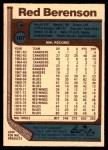 1977 O-Pee-Chee #107  Red Berenson  Back Thumbnail