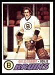 1977 O-Pee-Chee #125  Gilles Gilbert  Front Thumbnail
