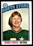 1976 Topps #34  Dennis O'Brien  Front Thumbnail