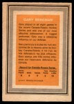 1972 O-Pee-Chee Team Canada #3  Gary Bergman  Back Thumbnail