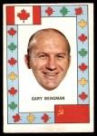 1972 O-Pee-Chee Team Canada #3  Gary Bergman  Front Thumbnail