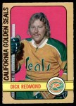 1972 O-Pee-Chee #151  Dick Redmond  Front Thumbnail