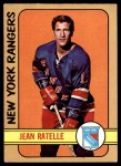 1972 O-Pee-Chee #12  Jean Ratelle  Front Thumbnail