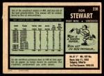 1971 O-Pee-Chee #236  Ron Stewart  Back Thumbnail
