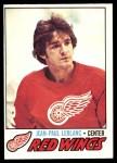 1977 O-Pee-Chee #133  Jean-Paul LeBlanc  Front Thumbnail
