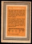 1972 O-Pee-Chee Team Canada #12  Bill Goldsworthy  Back Thumbnail