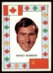 1972 O-Pee-Chee Team Canada #24  Mickey Redmond  Front Thumbnail
