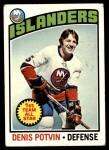 1976 Topps #170  Denis Potvin  Front Thumbnail