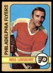 1972 O-Pee-Chee #166  Ross Lonsberry  Front Thumbnail
