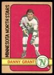 1972 O-Pee-Chee #57  Danny Grant  Front Thumbnail