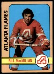 1972 O-Pee-Chee #98  Bill MacMillan  Front Thumbnail