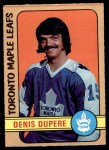 1972 O-Pee-Chee #167  Denis Dupere  Front Thumbnail