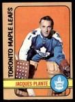 1972 O-Pee-Chee #92  Jacques Plante  Front Thumbnail