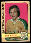 1972 O-Pee-Chee #130  Bert Marshall  Front Thumbnail