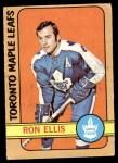 1972 O-Pee-Chee #36  Ron Ellis  Front Thumbnail