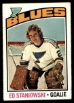 1976 O-Pee-Chee NHL #104  Ed Staniowski  Front Thumbnail