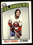 1976 O-Pee-Chee NHL #252  Billy Harris  Front Thumbnail