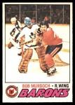 1977 O-Pee-Chee #39  Bob Murdoch  Front Thumbnail