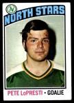 1976 Topps #184  Pete LoPresti  Front Thumbnail