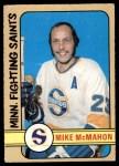 1972 O-Pee-Chee #305  Mike McMahon  Front Thumbnail