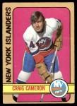 1972 O-Pee-Chee #13  Craig Cameron  Front Thumbnail