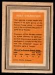 1972 O-Pee-Chee Team Canada #6  Yvan Cournoyer  Back Thumbnail