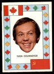 1972 O-Pee-Chee Team Canada #6  Yvan Cournoyer  Front Thumbnail
