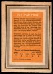 1972 O-Pee-Chee Team Canada #27  Pat Stapleton  Back Thumbnail