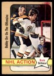 1972 O-Pee-Chee #58   -  Bobby Orr In Action Front Thumbnail