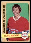 1972 O-Pee-Chee #165  Pierre Bouchard  Front Thumbnail