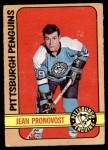 1972 O-Pee-Chee #64  Jean Pronovost  Front Thumbnail