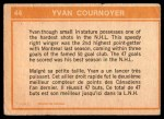 1972 O-Pee-Chee #44   -  Yvan Cournoyer In Action Back Thumbnail