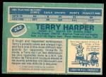1976 O-Pee-Chee NHL #262  Terry Harper  Back Thumbnail