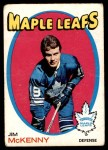 1971 O-Pee-Chee #43  Jim McKenny  Front Thumbnail