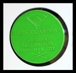 1960 Armour Coins #19 LGR Gus Triandos  Back Thumbnail