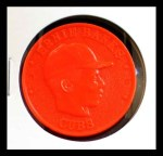 1959 Armour Coins #4 RED  Ernie Banks  Front Thumbnail