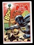 1966 Topps Batman Red Bat #21   Batman Wins a Prize Front Thumbnail