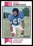 1973 Topps #65  Isiah Robertson  Front Thumbnail