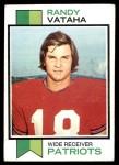 1973 Topps #31  Randy Vataha  Front Thumbnail