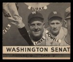 1935 Goudey  Bruce Campbell / Billy Meyers / Ival Goodman / Alex Kampouris  Back Thumbnail