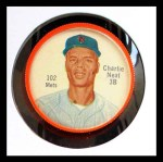1962 Salada Coins #102 NY Charlie Neal    Front Thumbnail
