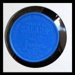 1962 Salada Coins #57 WHI Leon Wagner  Back Thumbnail